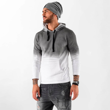 VSCT Clubwear Hoodie Biker grå