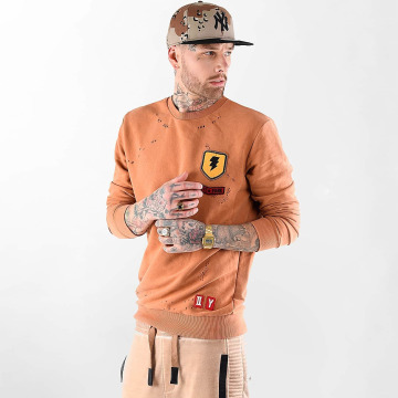 VSCT Clubwear Jersey Customized Patch Crew naranja