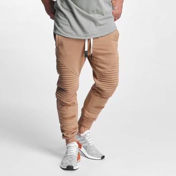 VSCT Clubwear joggingbroek Destroyed Biker bruin