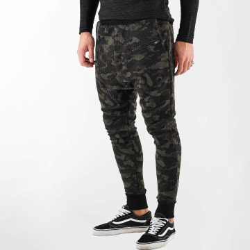 VSCT Clubwear joggingbroek Kobe Knit camouflage