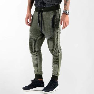 VSCT Clubwear Jogginghose Biker Jersey khaki