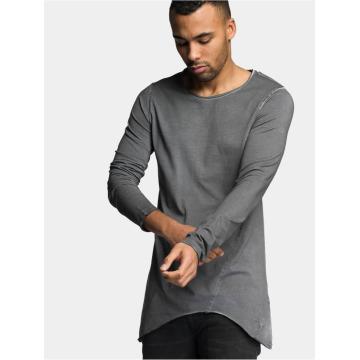 VSCT Clubwear Longsleeve Longshirt Oilwash grijs