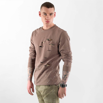 VSCT Clubwear Pullover Slashed brown