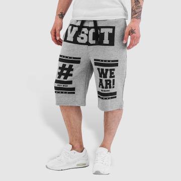 VSCT Clubwear Shorts Logo Hashtag grau