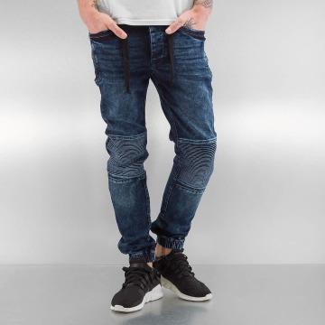 VSCT Clubwear Skinny Jeans Nano Cuffed niebieski