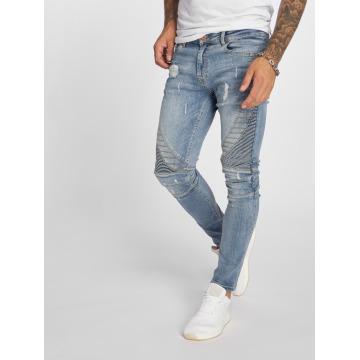 VSCT Clubwear Slim Fit Jeans Ryder Biker Luxury modrý