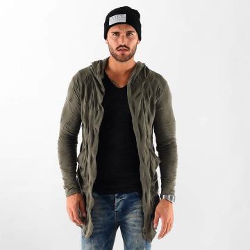 VSCT Clubwear Strickjacke Wave khaki
