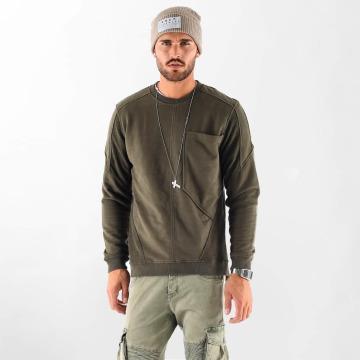 VSCT Clubwear Sweat & Pull Clubwear Flightsweat Backzip kaki