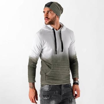 VSCT Clubwear Sweat capuche Biker blanc