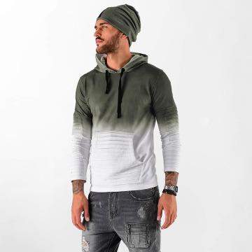 VSCT Clubwear Sweat capuche Biker kaki
