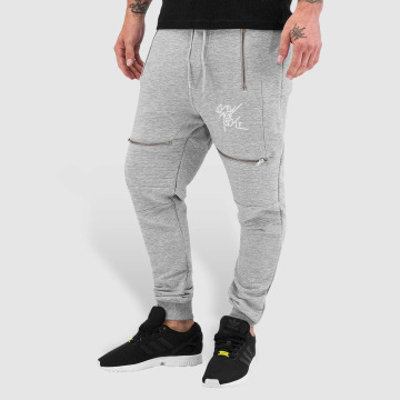 VSCT Clubwear Sweat Pant Lowcrotch Biker gray