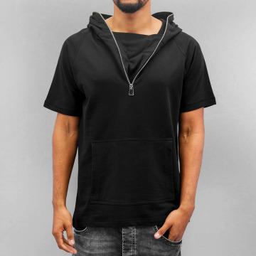 VSCT Clubwear T-paidat Hooded Athletic musta