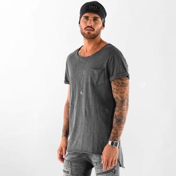 VSCT Clubwear T-Shirt Clubwear Sleep F**k grau