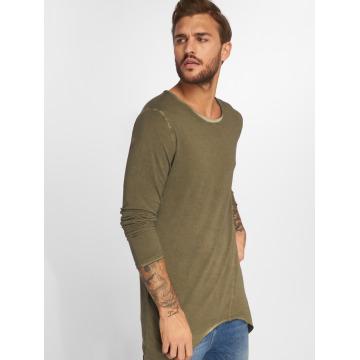 VSCT Clubwear T-Shirt manches longues Longshirt Oilwash kaki