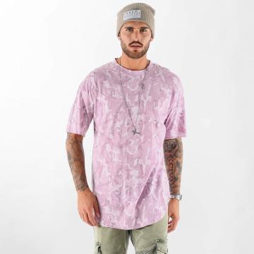 VSCT Clubwear T-shirts Camo Washed rød