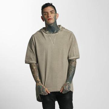 VSCT Clubwear Tričká Hooded béžová