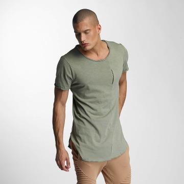 VSCT Clubwear Tričká Flamed Pkt kaki