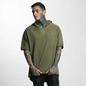VSCT Clubwear Tričká Hooded kaki