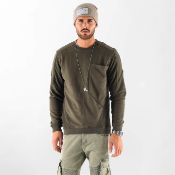 VSCT Clubwear Tröja Clubwear Flightsweat Backzip khaki