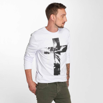 VSCT Clubwear Tröja Cross Palm Loose vit