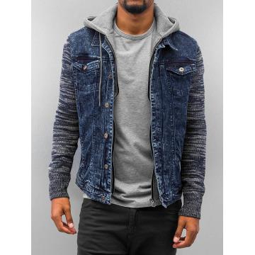 VSCT Clubwear Übergangsjacke Hybrid Denim blau