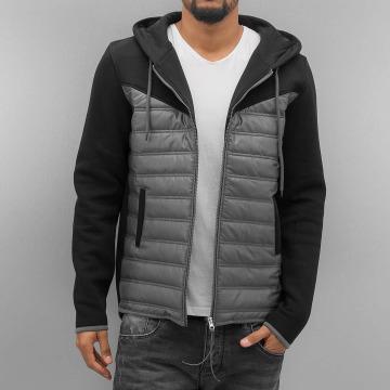 VSCT Clubwear Välikausitakit 2 Colour Amour Mix Fabric musta