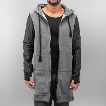 VSCT Clubwear Vetoketjuhupparit Xtended harmaa