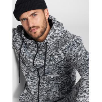 VSCT Clubwear Vetoketjuhupparit Melange Techfleece harmaa