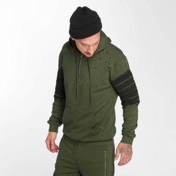 VSCT Clubwear Vetoketjuhupparit Oiled khakiruskea