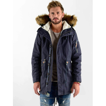 VSCT Clubwear Winter Jacket Luxury blue