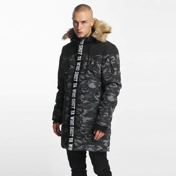 Who Shot Ya? Зимняя куртка BigWho серый