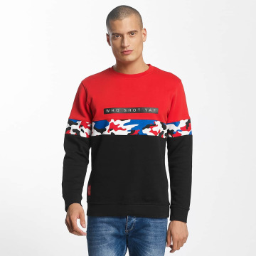 Who Shot Ya? Пуловер Chillibash черный