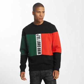Who Shot Ya? Пуловер Damn Dan черный