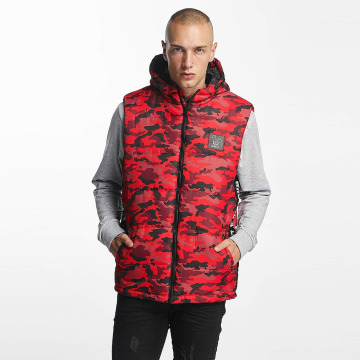 Who Shot Ya? Bodywarmer BigWho Quilted rood