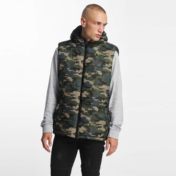 Who Shot Ya? Gilet BigWho Quilted verde