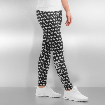 Who Shot Ya? Legging Allover zwart