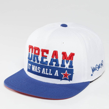 Who Shot Ya? Snapback Cap Dream weiß