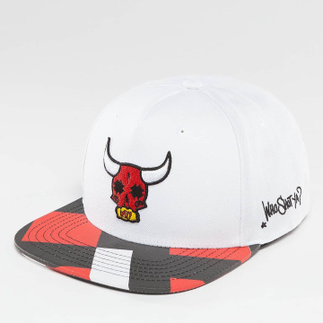 Who Shot Ya? Snapback Cap Bullpower white