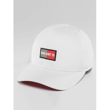 Who Shot Ya? Snapback Cap Daddy Fit Cap white