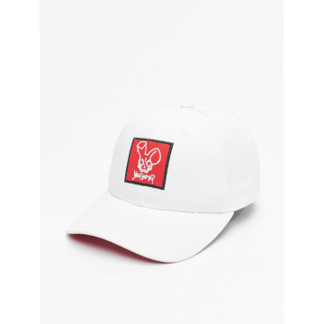 Who Shot Ya? Snapback Cap Daddy Fit white