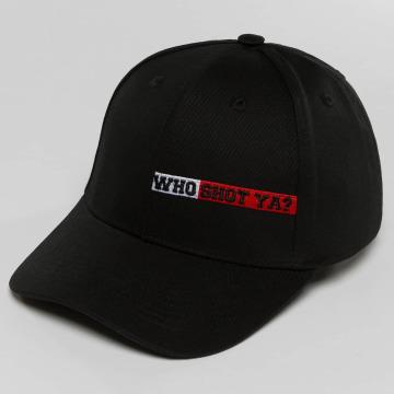 Who Shot Ya? Snapback Caps Lucid Style czarny