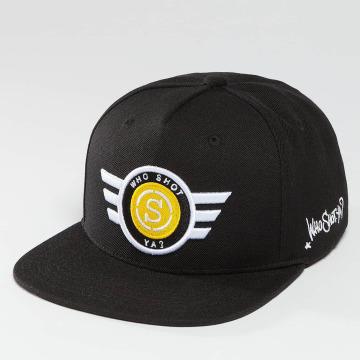 Who Shot Ya? Snapback Caps S-Cap musta