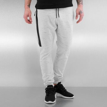 Who Shot Ya? Sweat Pant Melange white