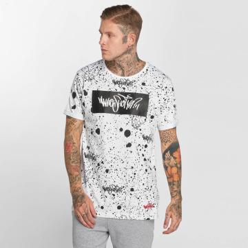 Who Shot Ya? T-shirt W Zone bianco