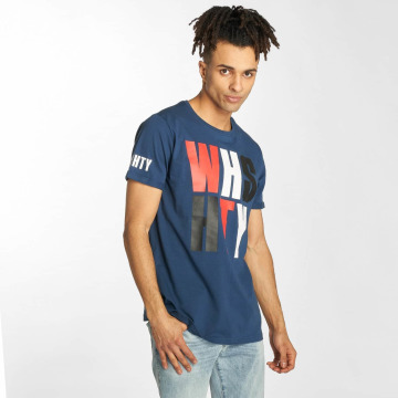 Who Shot Ya? T-Shirt WHSHTY blau