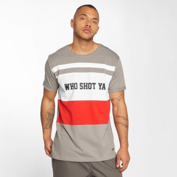 Who Shot Ya? T-Shirt PortMorris grau