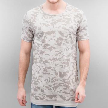 Who Shot Ya? T-shirt longoversize Armee beige