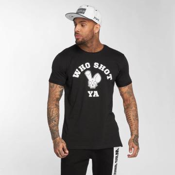 Who Shot Ya? T-shirt Golden W Clan nero