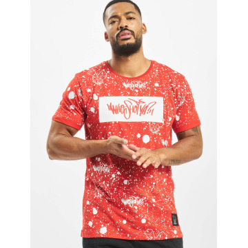 Who Shot Ya? W Zone T Shirt Red