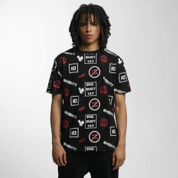Who Shot Ya? T-Shirt GameOver schwarz